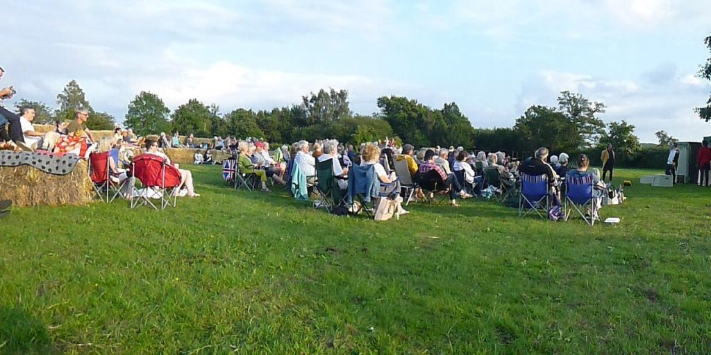 Audience at Much Ado About Nothing